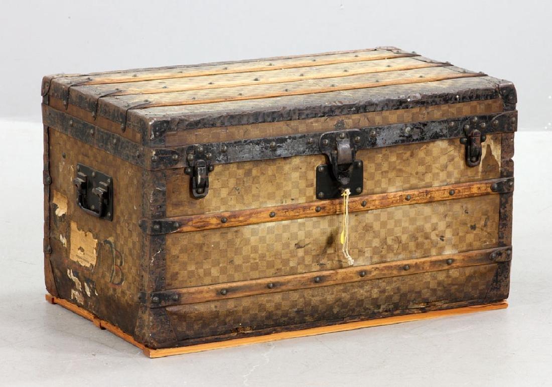 Louis Vuitton Damier Canvas Steamer Trunk - 2