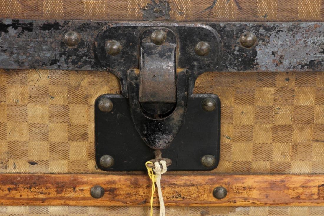 Louis Vuitton Damier Canvas Steamer Trunk - 7