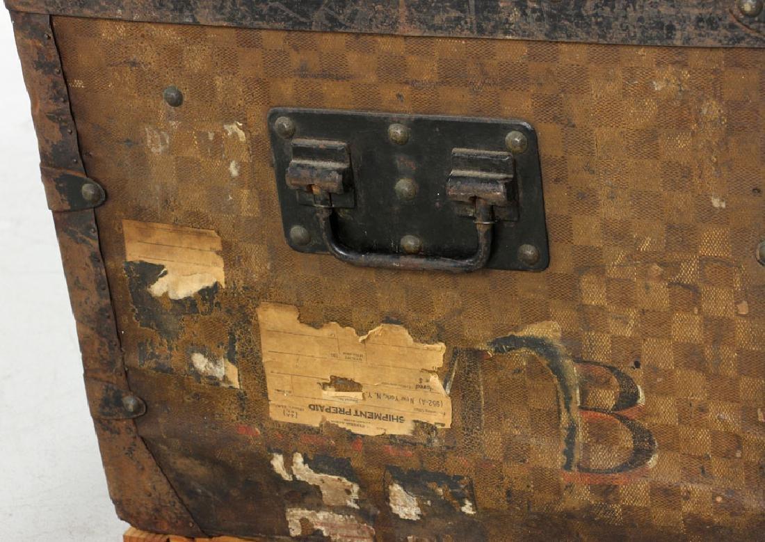 Louis Vuitton Damier Canvas Steamer Trunk - 8