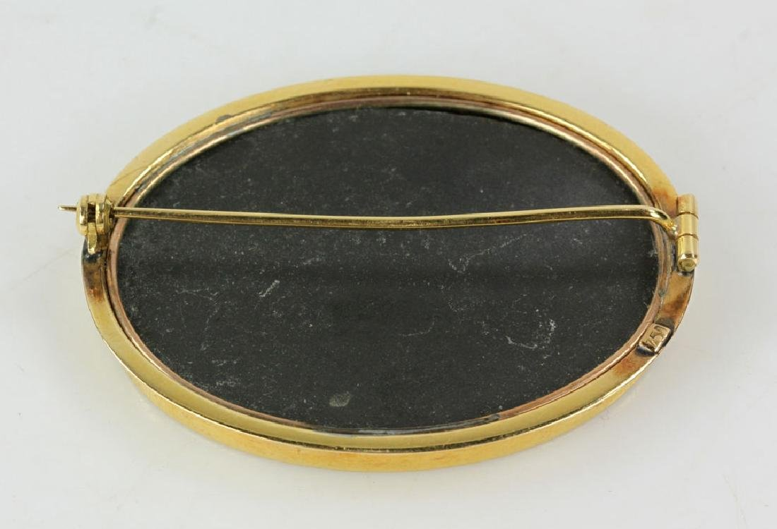 Two Gold Jewelry Pins - 7