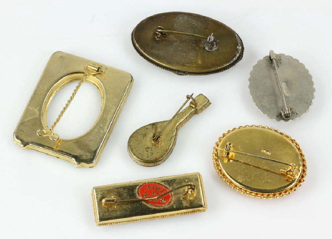 Six Italian Mosaic Jewelry Pieces - 2