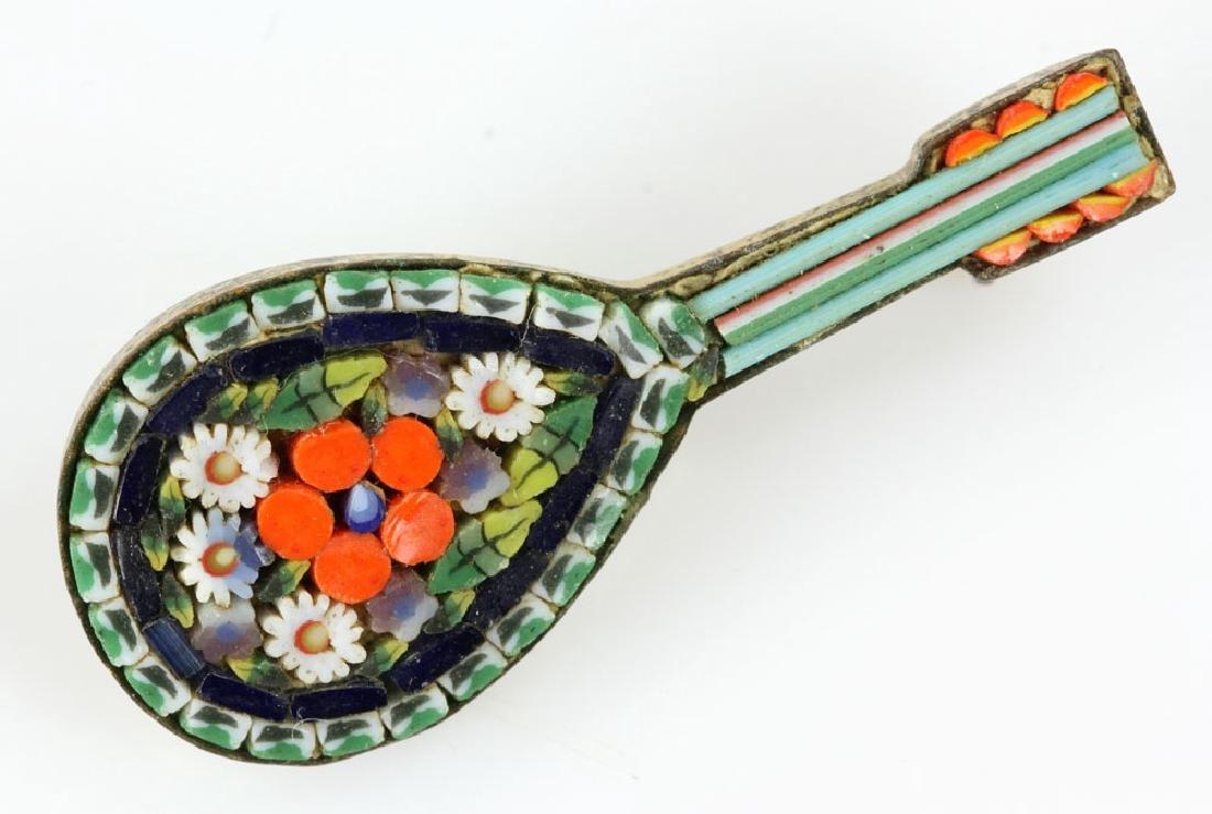 Six Italian Mosaic Jewelry Pieces - 3