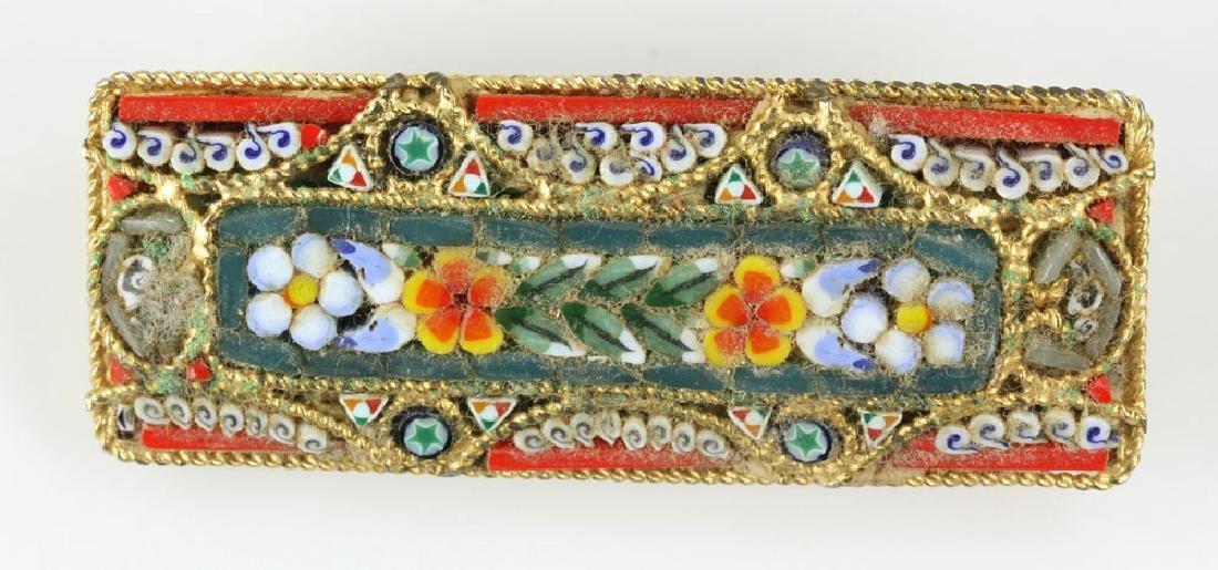 Six Italian Mosaic Jewelry Pieces - 4