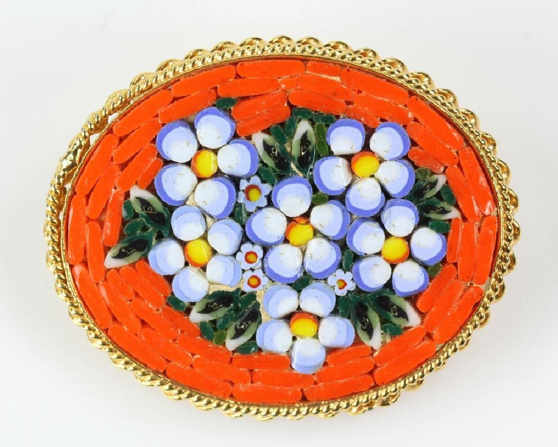 Six Italian Mosaic Jewelry Pieces - 5