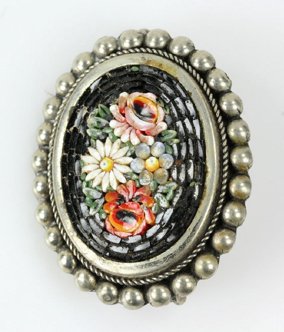 Six Italian Mosaic Jewelry Pieces - 6