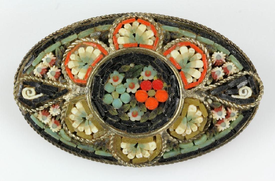 Six Italian Mosaic Jewelry Pieces - 7