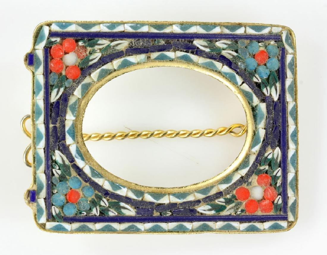 Six Italian Mosaic Jewelry Pieces - 8