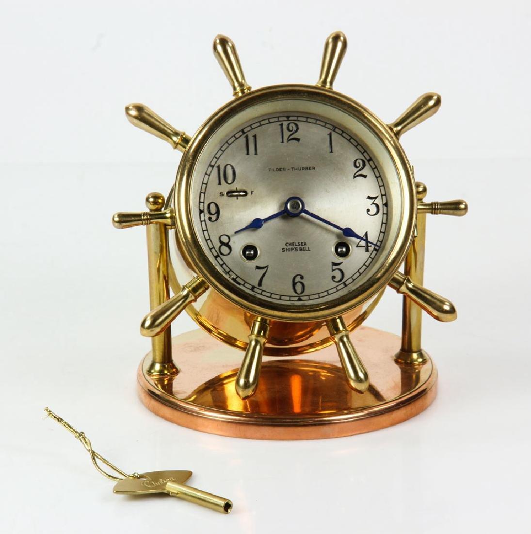 Chelsea Ships Bell Desk Clock