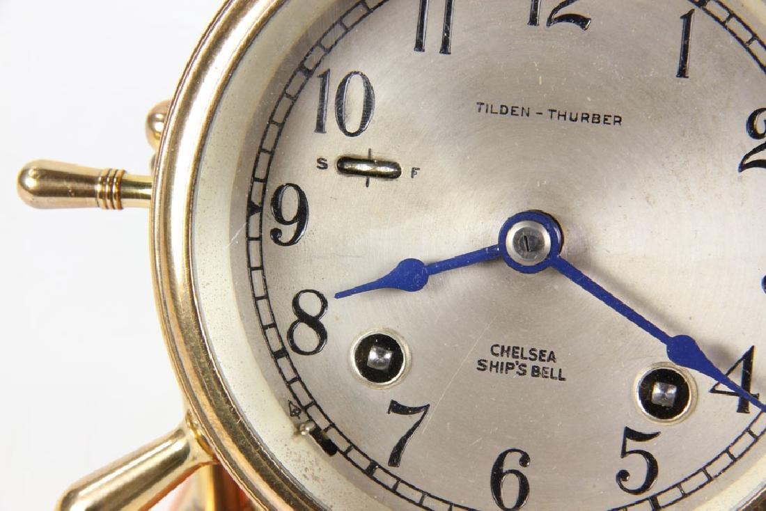 Chelsea Ships Bell Desk Clock - 2