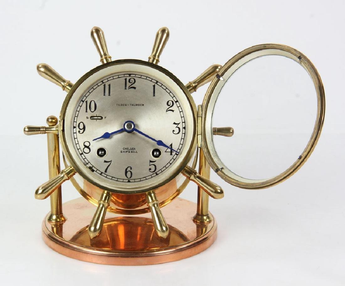 Chelsea Ships Bell Desk Clock - 5