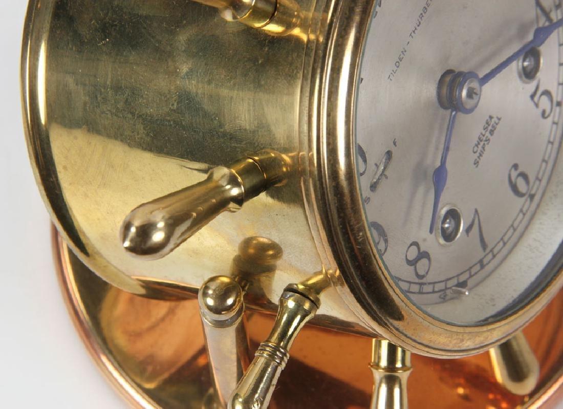 Chelsea Ships Bell Desk Clock - 6
