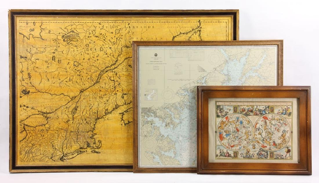 Group of Three Maps