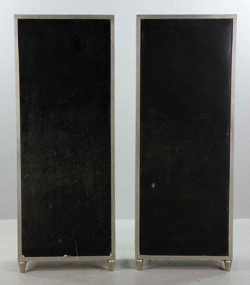 Pr. Metal and Glass Display Cases - 5