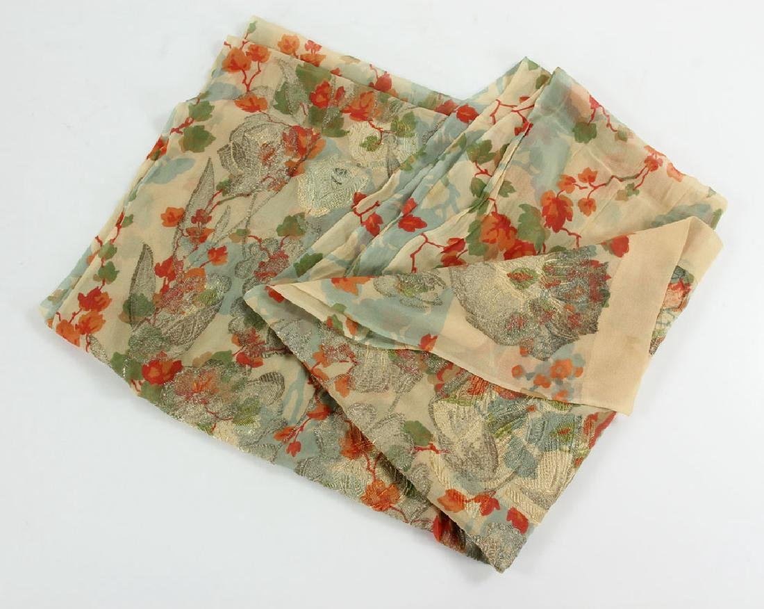 Two French Silk Scarves - 6