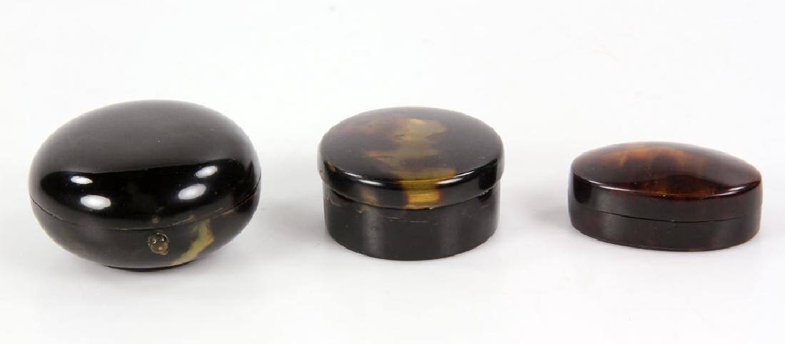 Miscellaneous Collection of Antique Tortoise Shell - 4