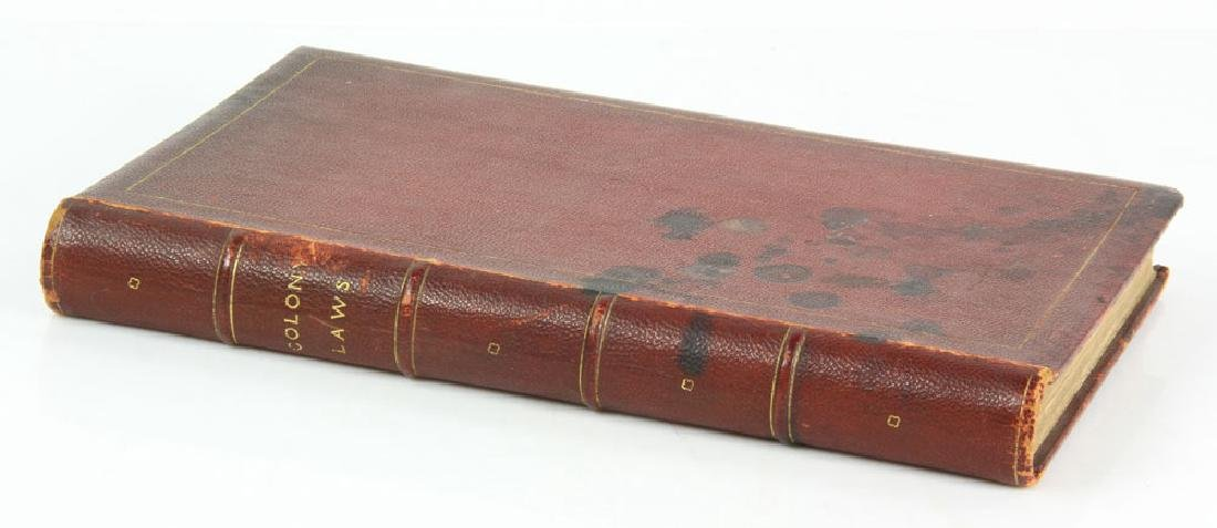 "Rare Rhode Island's Colonial 1767 ""Acts and Laws"" - 2"