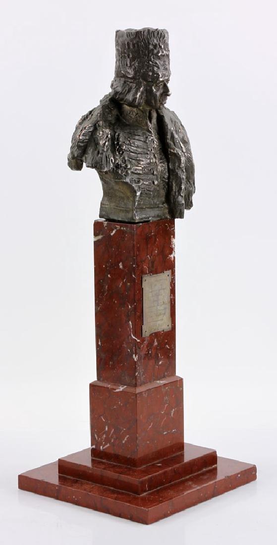 Aktien-Gesellschaft Gladenbeck Bronze Bust on Marble - 2