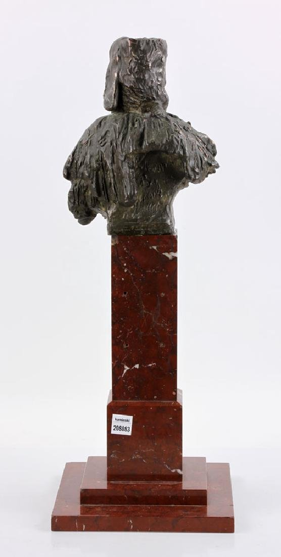 Aktien-Gesellschaft Gladenbeck Bronze Bust on Marble - 4