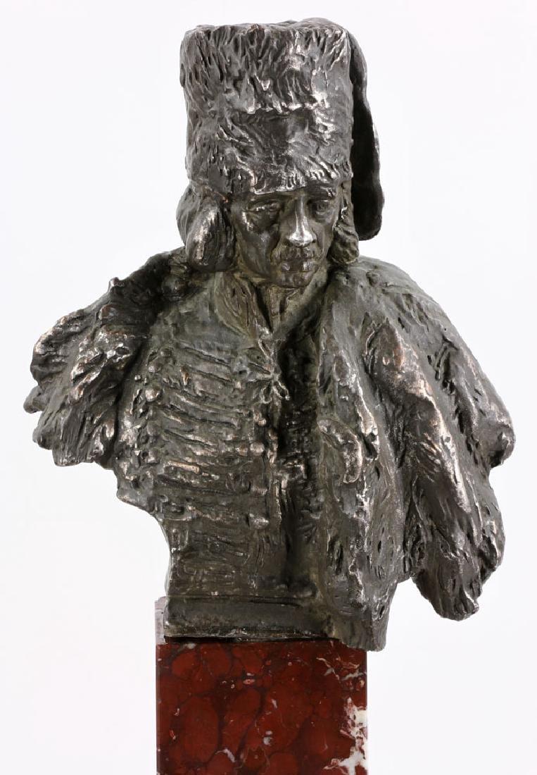 Aktien-Gesellschaft Gladenbeck Bronze Bust on Marble - 5