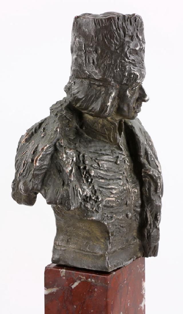 Aktien-Gesellschaft Gladenbeck Bronze Bust on Marble - 6