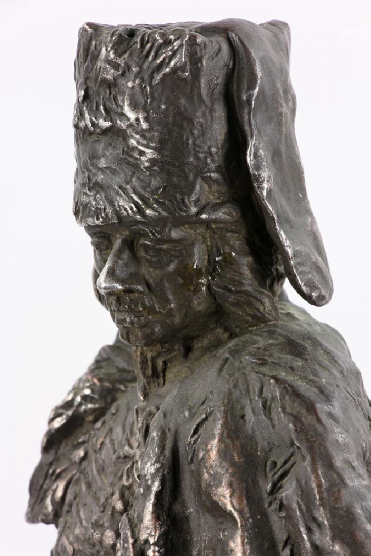 Aktien-Gesellschaft Gladenbeck Bronze Bust on Marble - 7