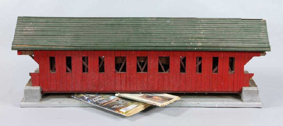 New Hampshire Covered Bridge Model
