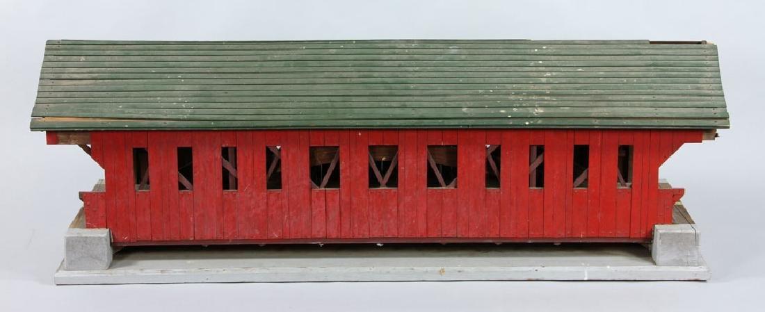 New Hampshire Covered Bridge Model - 2
