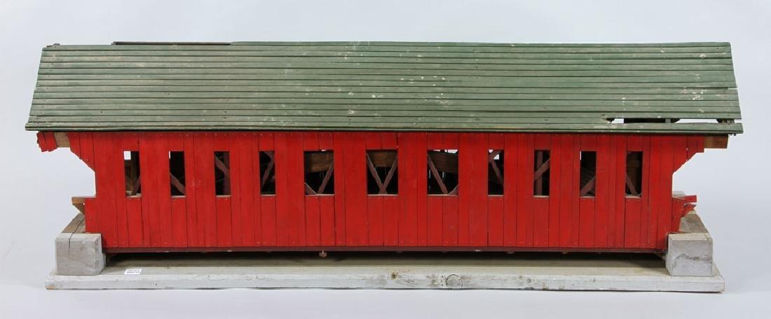 New Hampshire Covered Bridge Model - 3