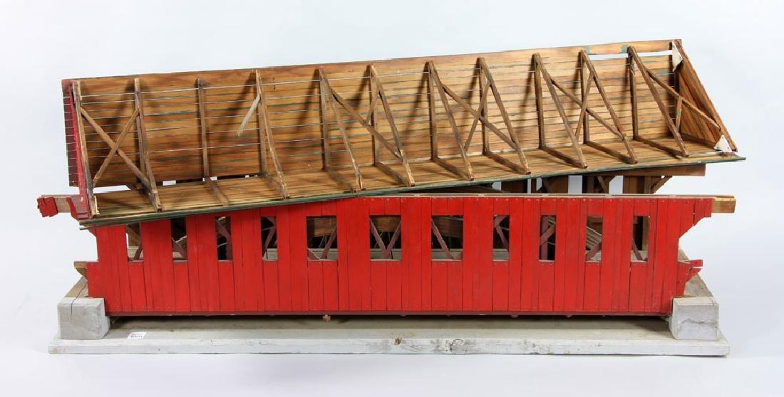New Hampshire Covered Bridge Model - 7