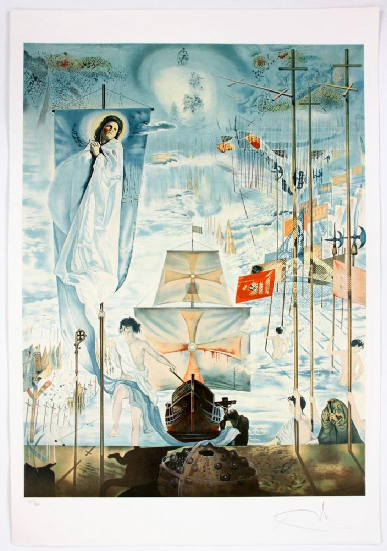 "After Dali, ""The Discovery of America by Columbus"", 4 - 3"