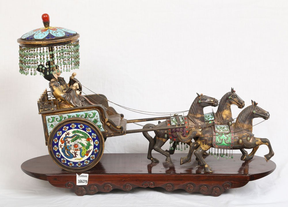 Miniature Sterling Ceremonial Carriage - 10
