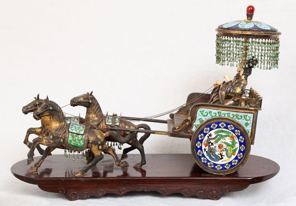 Miniature Sterling Ceremonial Carriage - 2