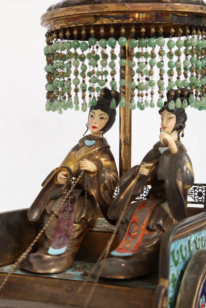 Miniature Sterling Ceremonial Carriage - 3