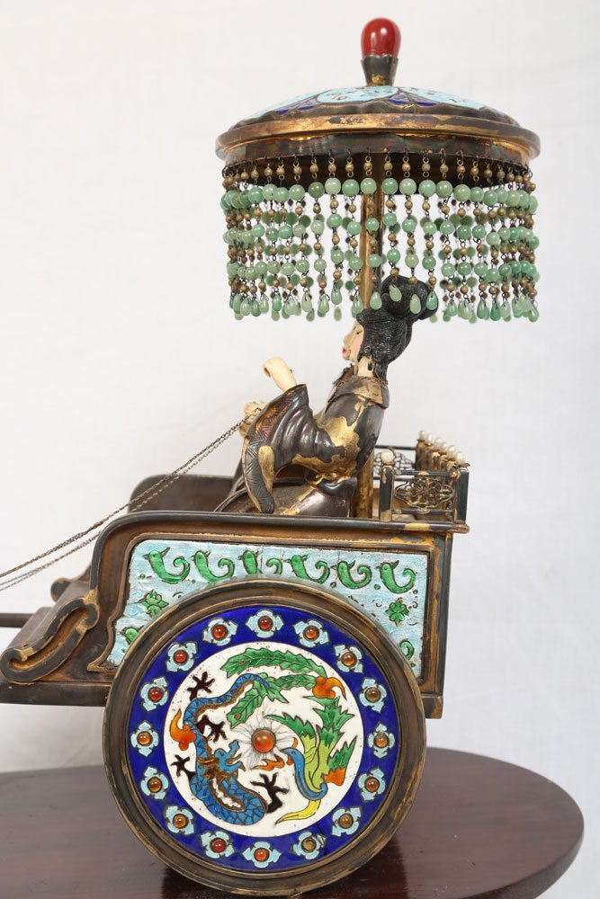 Miniature Sterling Ceremonial Carriage - 7
