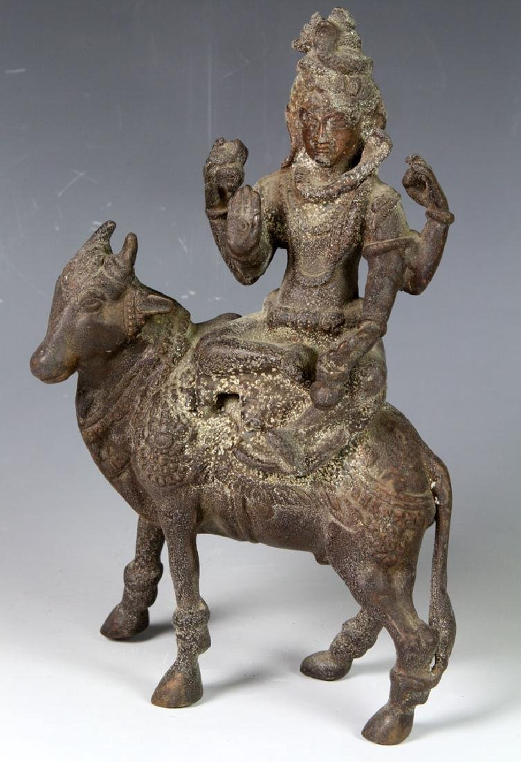 Asian Bronze Devotional Figure