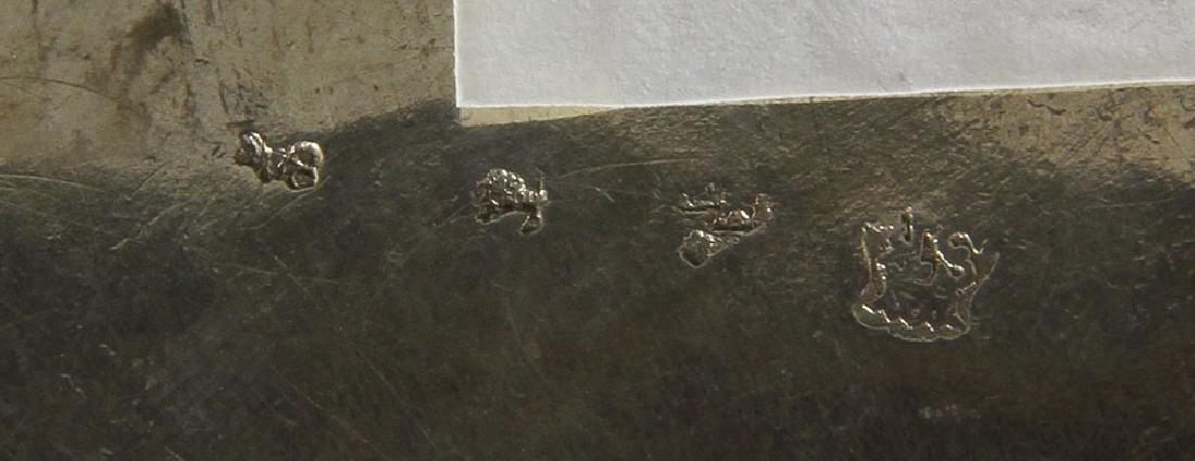 Pair of Repousse Silver Cashe Pots - 5
