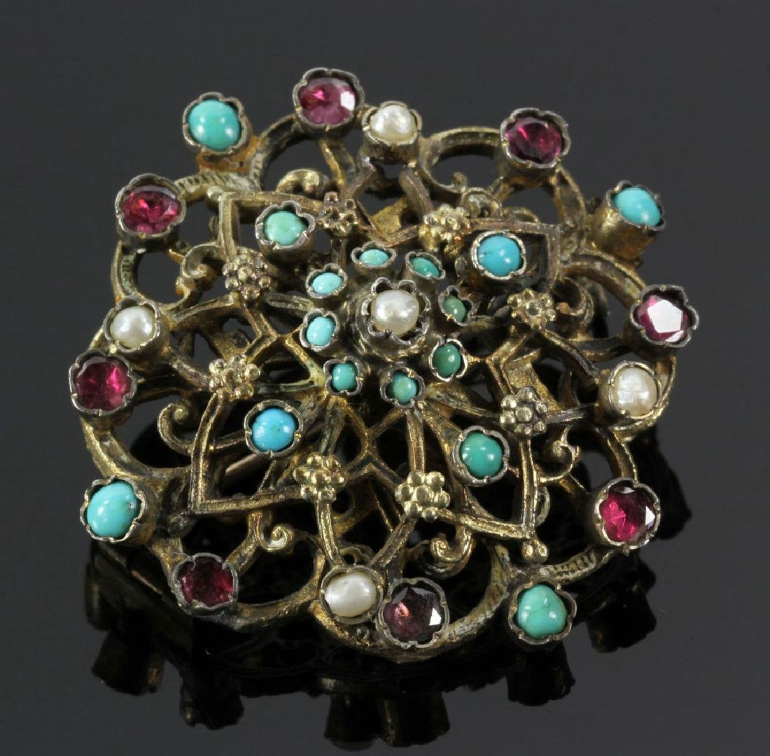 Gilt Silver Jewelry Suite - 3