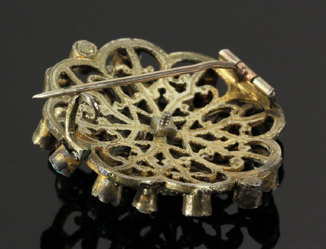 Gilt Silver Jewelry Suite - 4