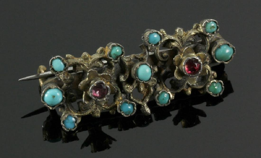 Gilt Silver Jewelry Suite - 5