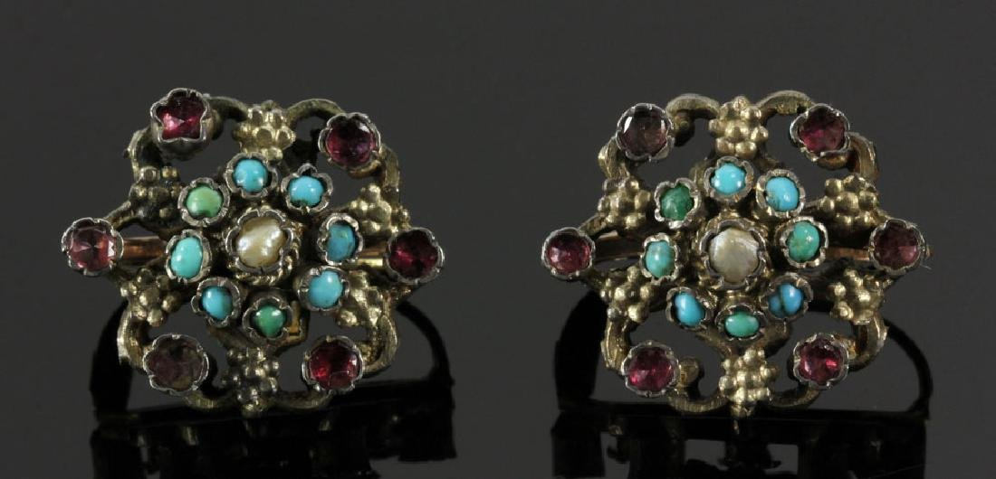Gilt Silver Jewelry Suite - 7