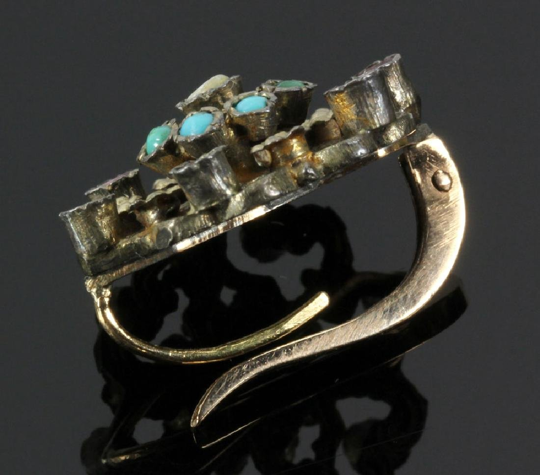 Gilt Silver Jewelry Suite - 8