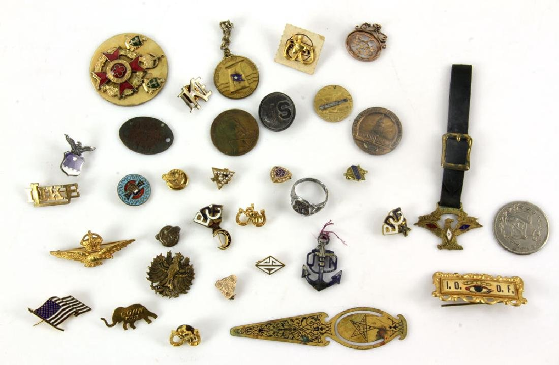Collectable Pins, Badges and Buttons - 6