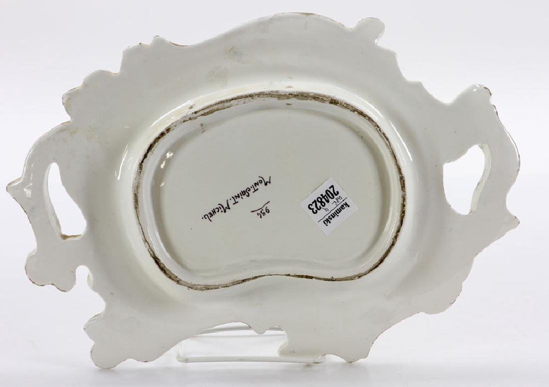 French Armorial Faience Dish - 2
