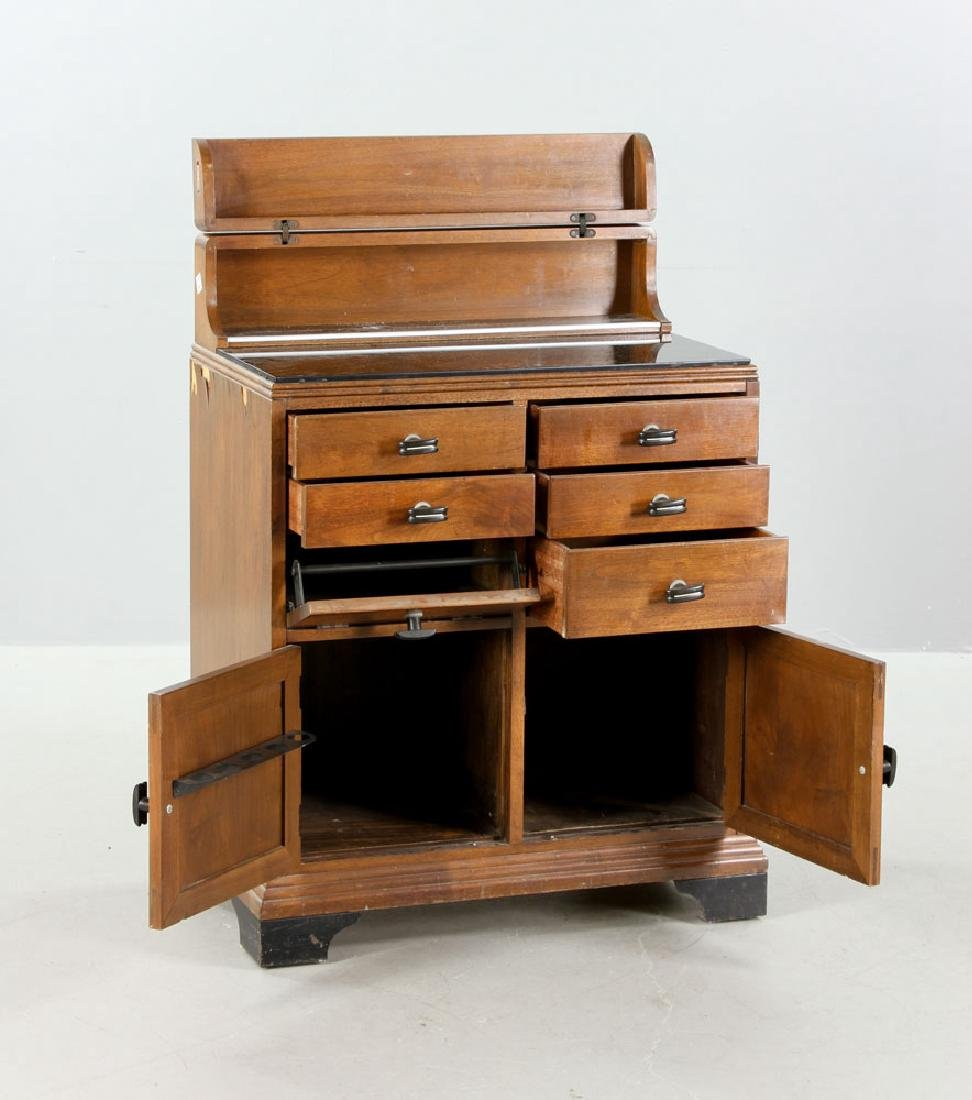 Art Deco Parquetry Cabinet - 2