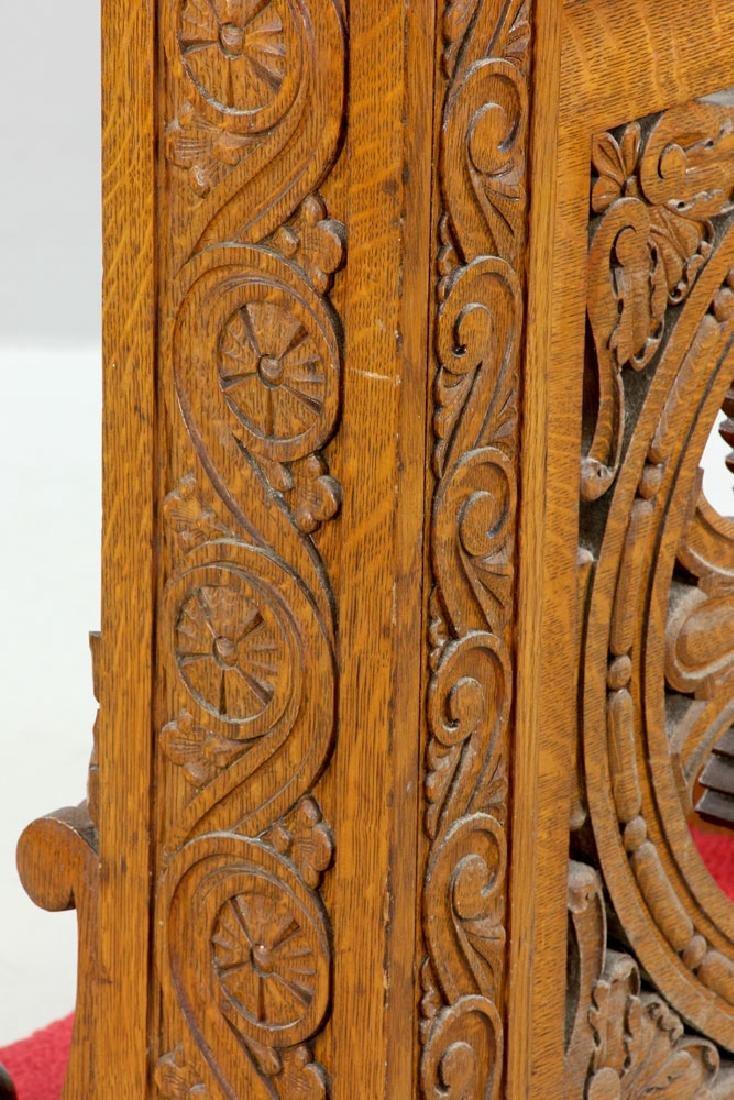 Oak Confessional Kneeler - 5