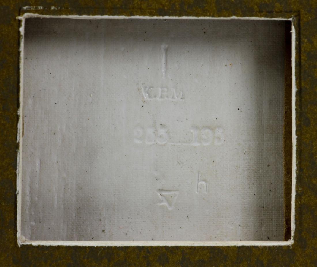 KPM Porcelain Plaque - 4
