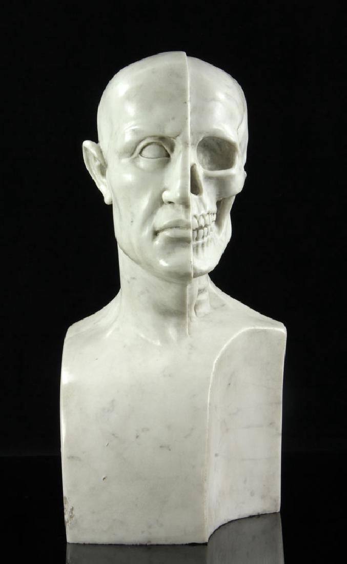 Vanitas Bust, Marble