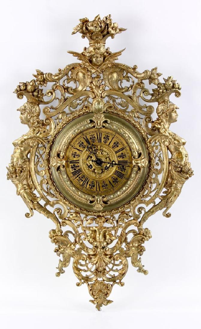 Large Tiffany & Co. Wall Clock
