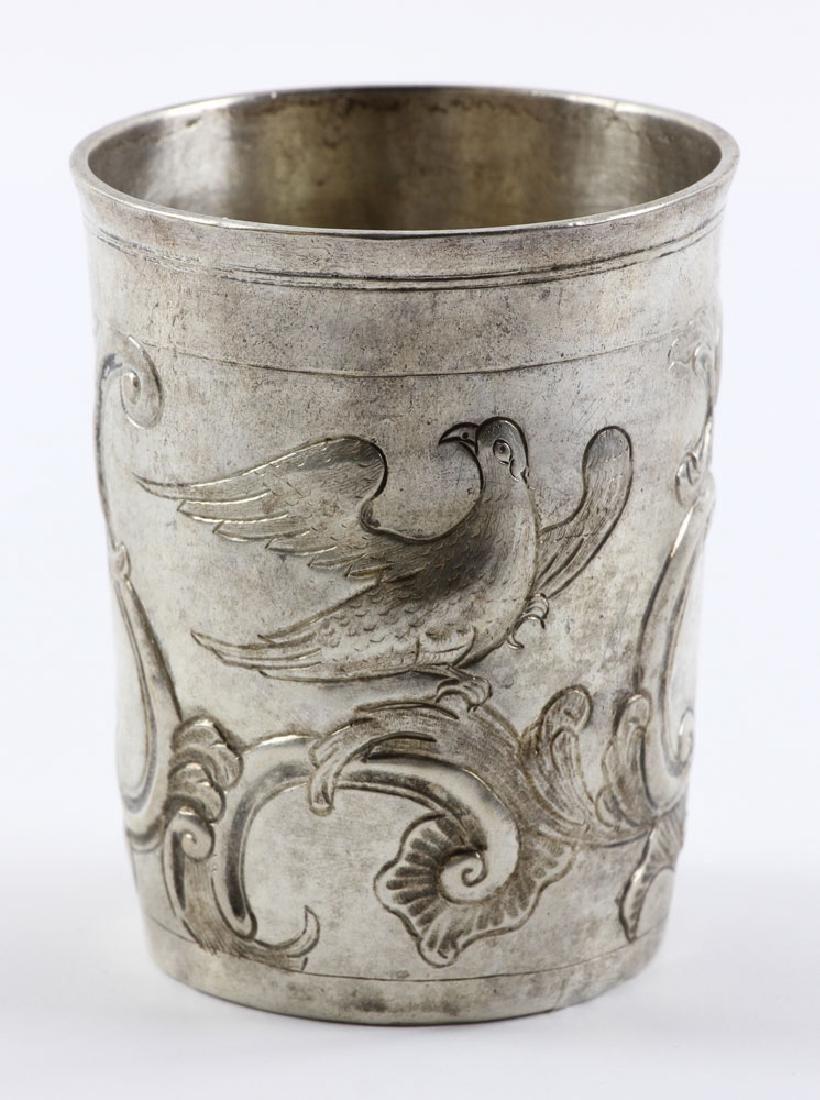 18th C. Russian Silver Beaker