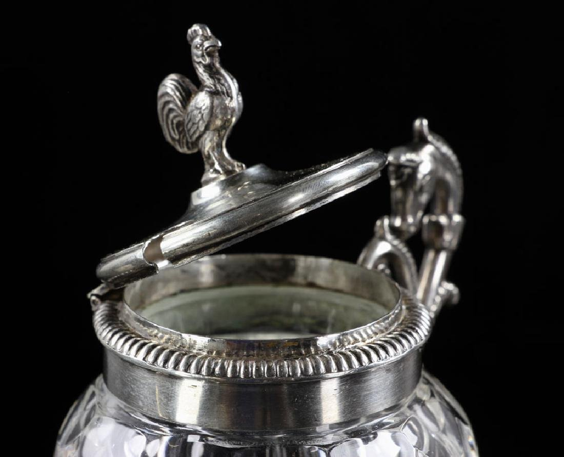 Austrian Silver Mustard Pot - 5